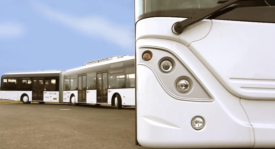 Geprüft: Der längste Bus der Welt. (Foto: www.autotram.info)