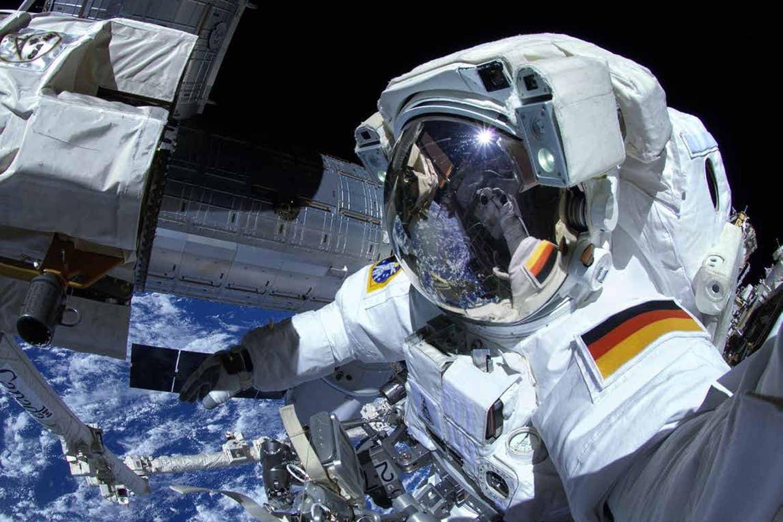 Vom Vulkanforscher zum Astronaut: Alexander Gerst im All