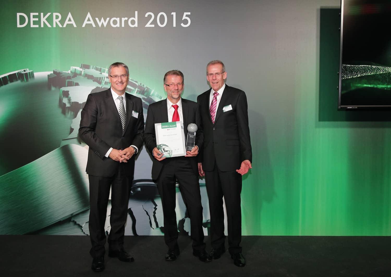 DEKRA zeichnet Safety Champions 2015 aus