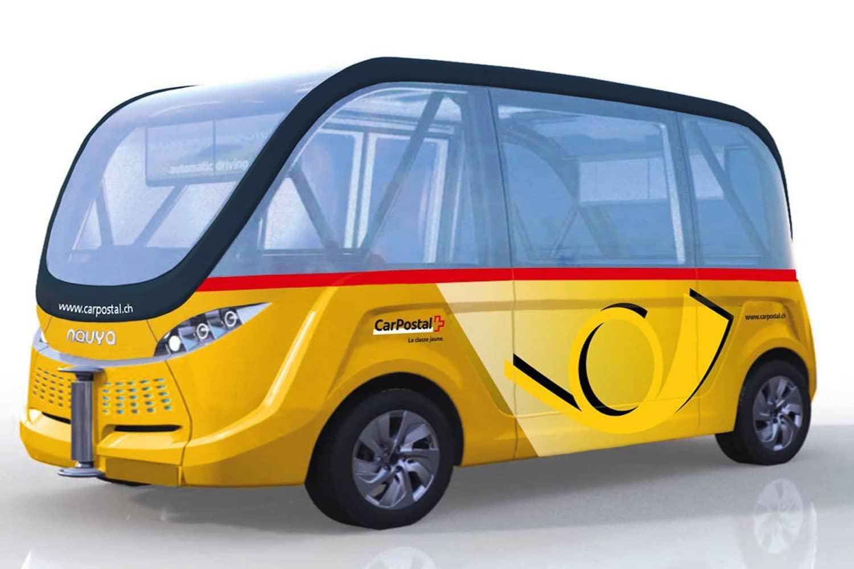 Mobile Kooperation: Schweizer Post plant selbstfahrende Busse