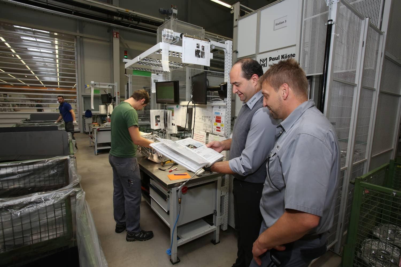 Maschinenbau trifft Netzwelt
