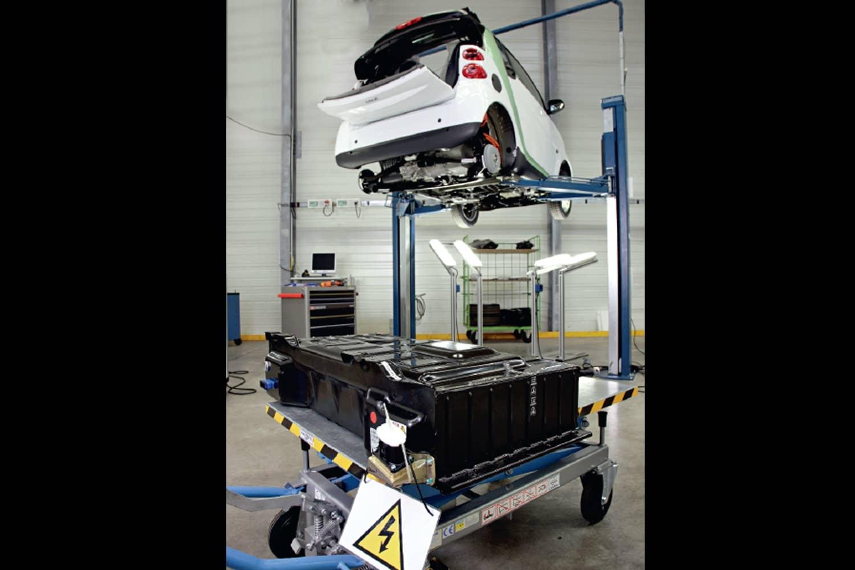 Zweites Leben für elektroautomobile Batterien