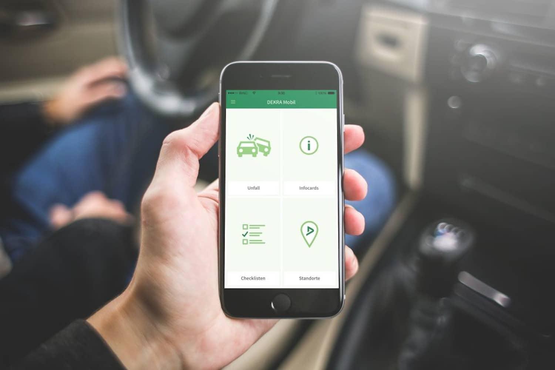 DEKRA Mobil App: Hilfreicher Fahrbegleiter