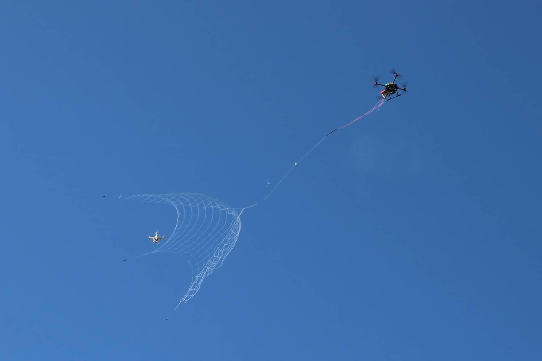 DroneCatcher gets unwelcome drones under control