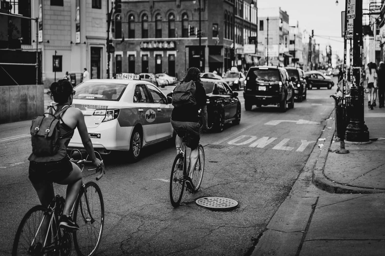 Rote Ampeln gelten auch für Radfahrer