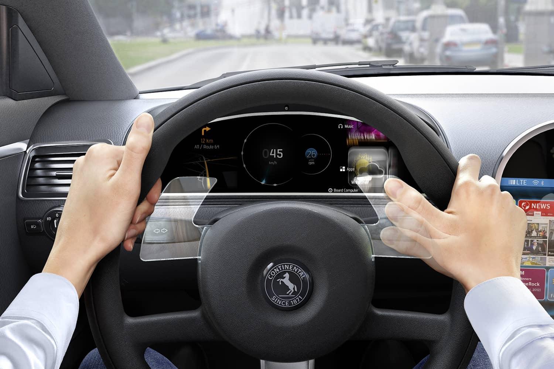 Bedientechnik: Continental integriert Gestensteuerung ins Lenkrad