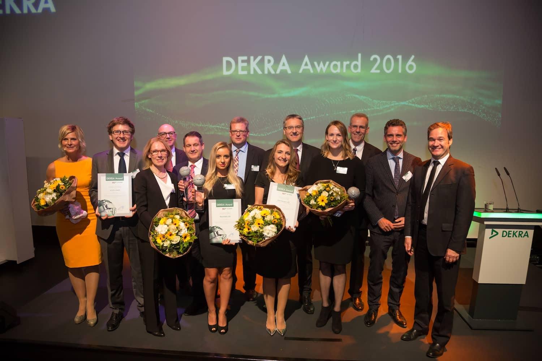 DEKRA Award: Safety Champions 2016 ausgezeichnet