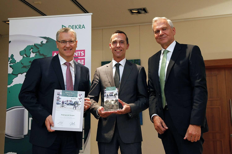 DEKRA Vision Zero Award für Stadt Kerpen