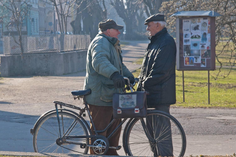 Sichtbarkeit: Besonders ältere Menschen gefährdet