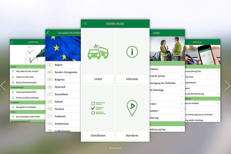 DEKRA Mobil-App: Alle Infos griffbereit