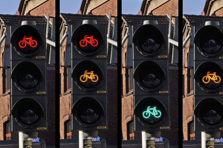 Haltezone vor Ampeln: Mehr Sicherheit für Fahrradfahrer