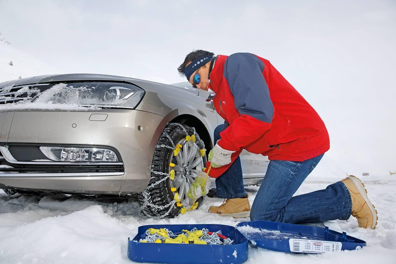 Schneeketten: So klappt es auf Anhieb
