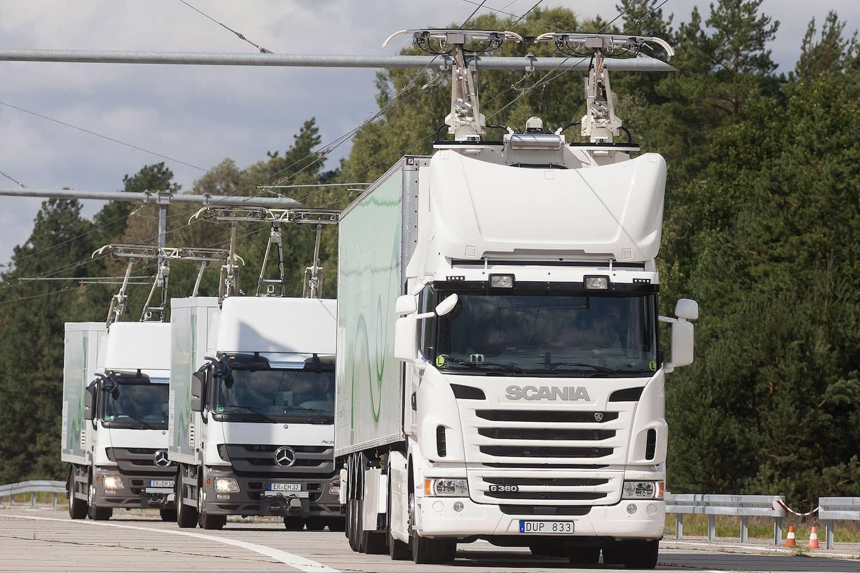 Oberleitungs-Lkw: Unter Strom auf die Autobahn
