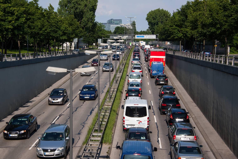 Verkehrsstau: München Spitzenreiter in Deutschland
