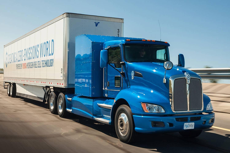 Wasserstoff: Toyota baut Hybrid-Truck