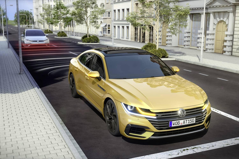 PreCrash-System: Der VW Arteon hat auch hinten Augen