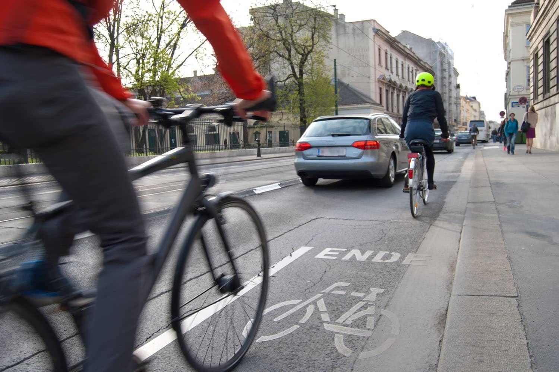 Sicherheitsabstand: Rechte für Radfahrer