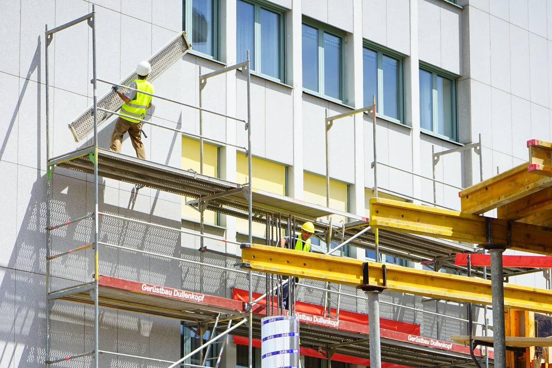 Abstürze sind häufigste Todesursache auf Baustellen