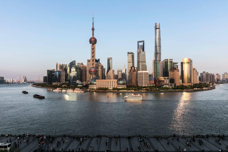 Shanghai Insel Jangtsekiang