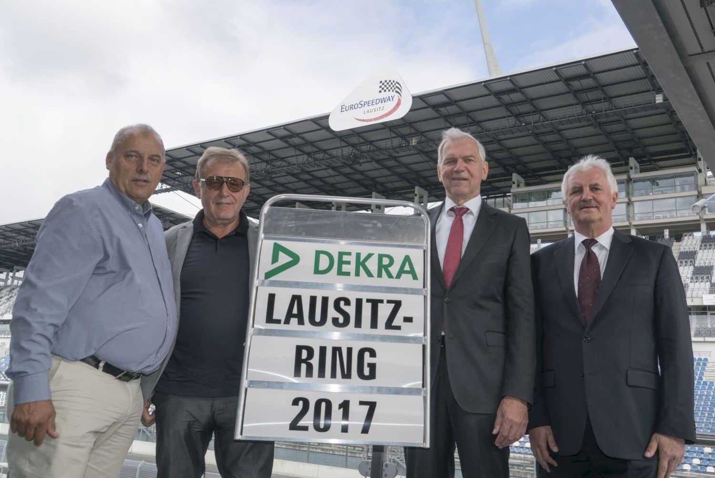 DEKRA übernimmt den Lausitzring.