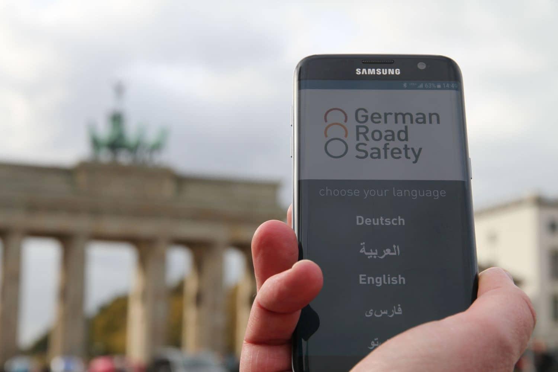 German Road Safety App: Mehr Verkehrssicherheit für alle