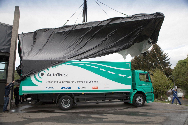 Der Lkw von Orten Electric-Trucks ist Versuchsträger im Forschungsprojekt. Foto: IVI