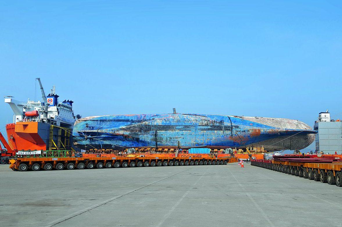 Der britische Schwerlastspezialist ALE 2017 führte einen 17.280 Tonnen schweren Transport aus. Foto: ALE Heavylift