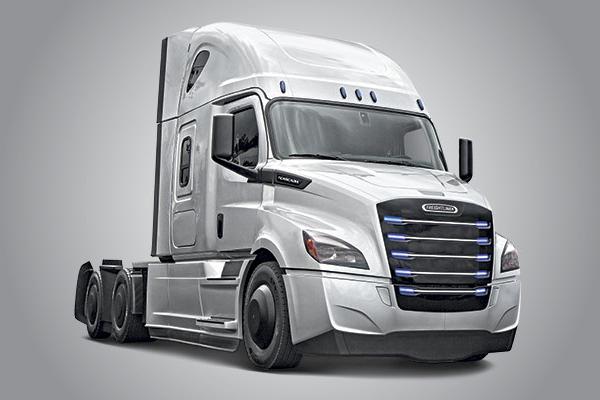 Freightliner eCascadia. Foto: Daimler AG
