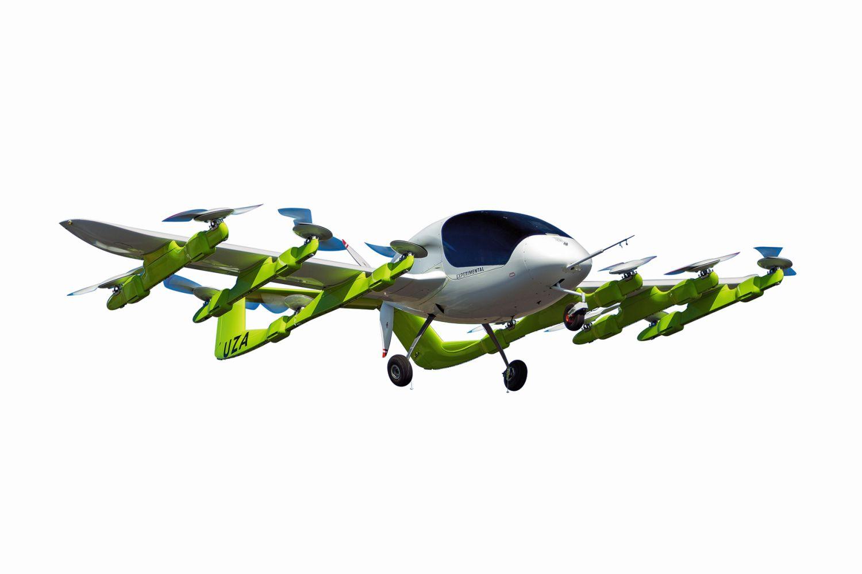 """Städtischer Luftverkehr: In Neuseeland wird das senkrecht startende elektrische Luft-Taxi """"Cora"""" des US-Herstellers Kitty Hawk getestet. Foto: CORA KITTY HAWK"""