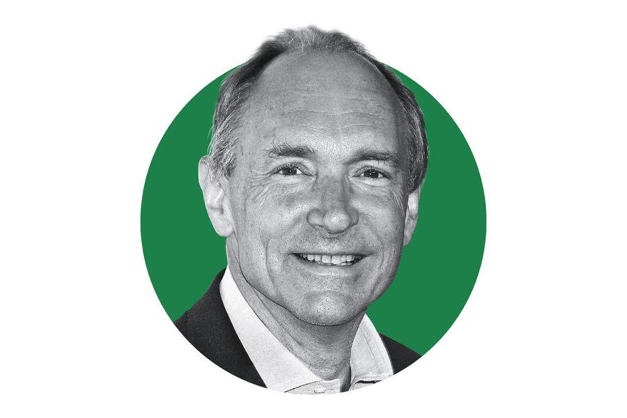 Internet: Tim Berners-Lee erfand HTML und konstruierte den ersten Webserver. 1991 baute er die erste Website auf und gilt als Vater des Internets. Foto: Laura Cavanaugh/Getty Images