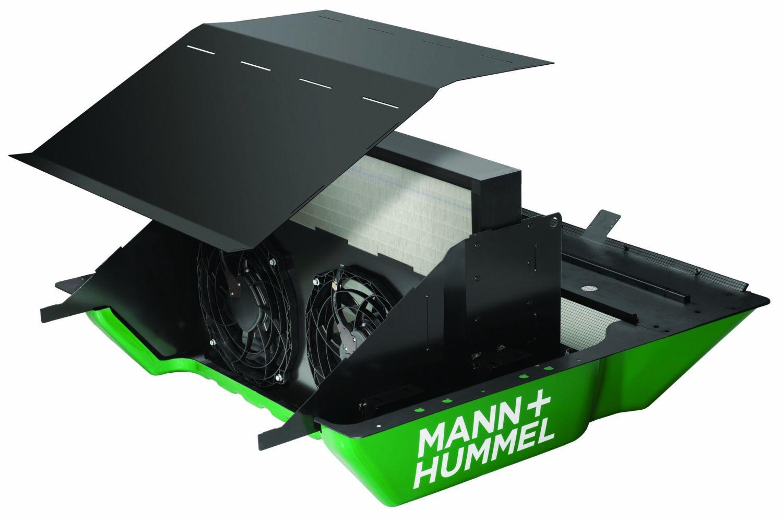 Laborversuchen zufolge soll der Bremsstaubpartikelfilter von Mann + Hummel 80 Prozent des Bremsstaubes auffangen. Foto: Mann + Hummel