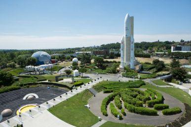 Cité de l'espace in Toulouse. Photo: Cite de l'espace