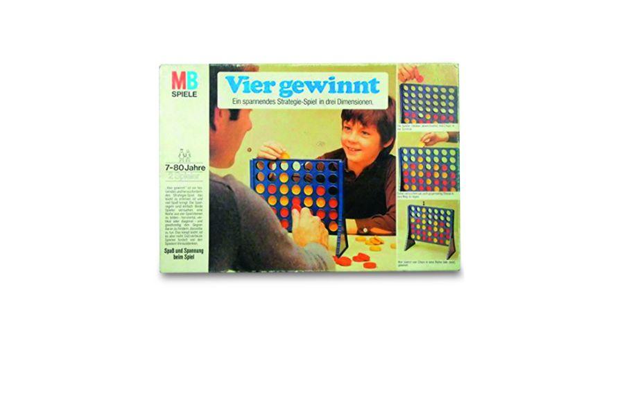 1974: Vier gewinnt – Strategiespiel von MB Spiele (US). Foto: MP Spiele