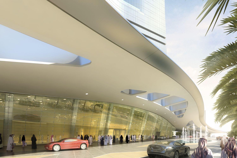 Im Jeddah-Tower finden sich vor allem Luxus-Wohnungen. Foto: Adrian Smith + Gordon Gill Architecture/Jeddah Economic Company