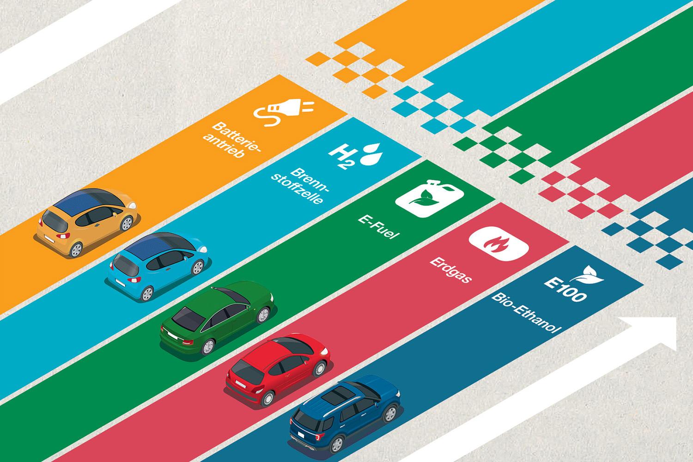 Alternativen zu herkömmlichen Kraftstoffen stehen in den Startlöchern. Es gilt, Nachhaltigkeit und Energieeffizienz optimal zu vereinen. Foto: Ostapenko Olena – iStock