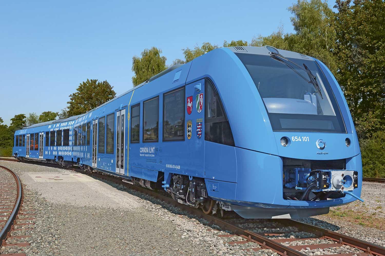 """Coradia iLint: Das Zugmodell von Alstom wurde 2018 mit dem Green-Tec Award in der Kategorie """"Mobilität"""" ausgezeichnet. Foto: Alstom"""