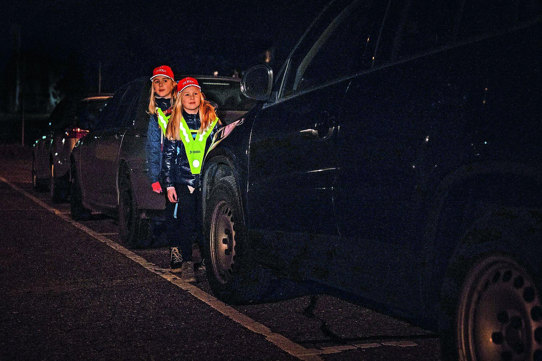 DEKRA Verkehrssicherheitsreport 2019 Warnwesten für Kinder. Foto: Thoma Küppers