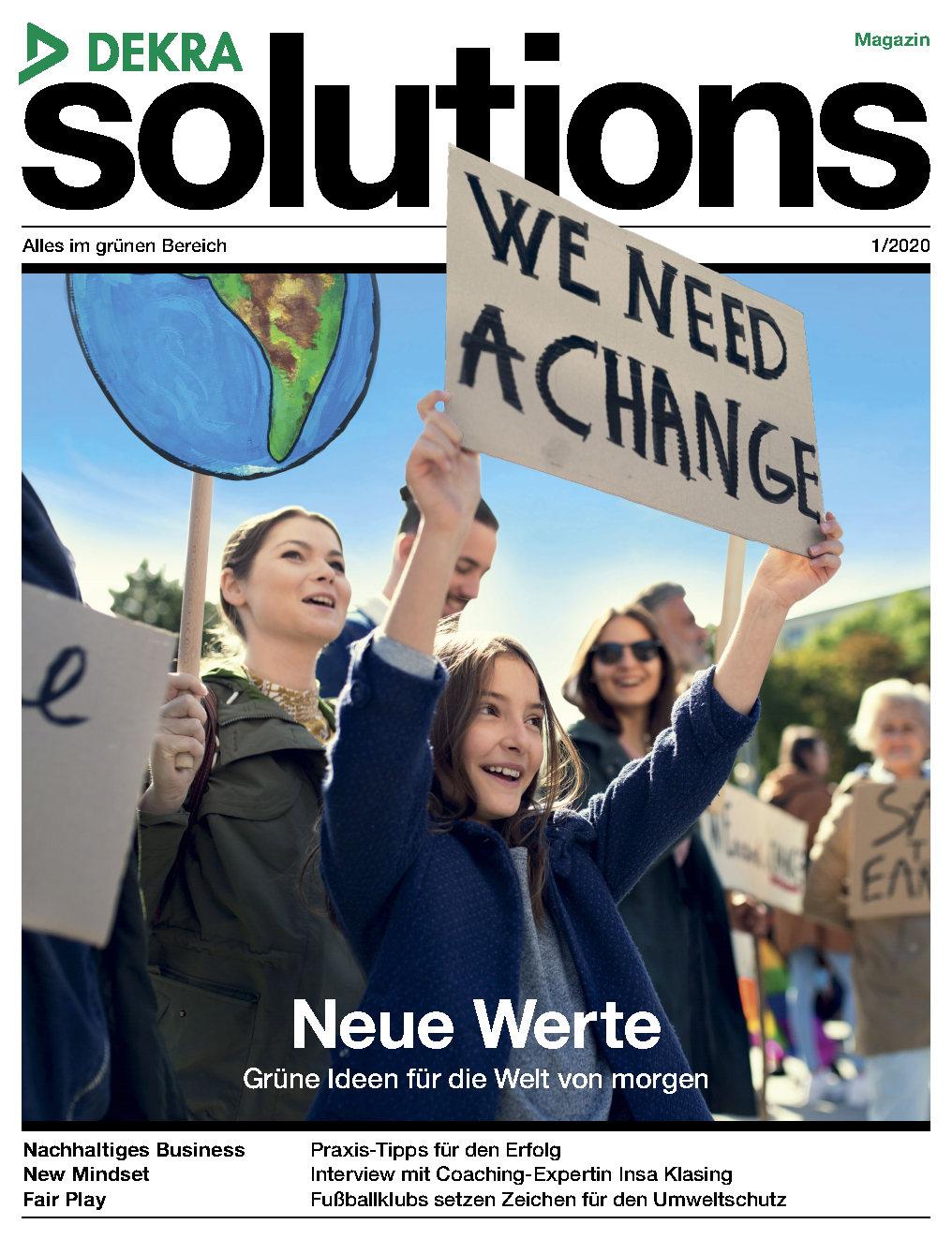 DEKRA solutions Magazin 1/2020