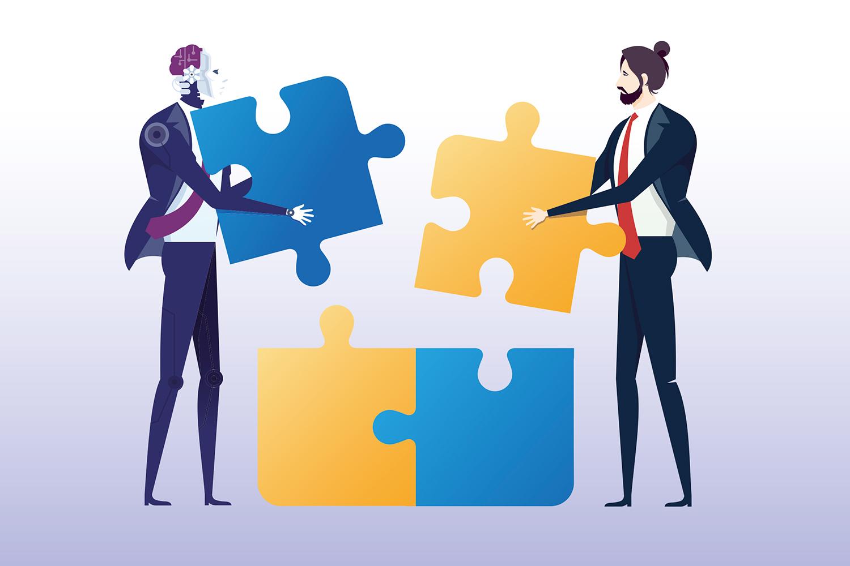 KI-Anwendungen unterstützen Personalverantwortliche beim Bewerbermanagement. Foto: Treety - istock photo
