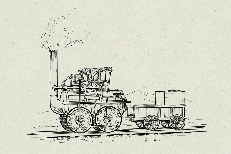 Illustration: Michael Stach, Paper Background: Tomograf/IstockPhoto