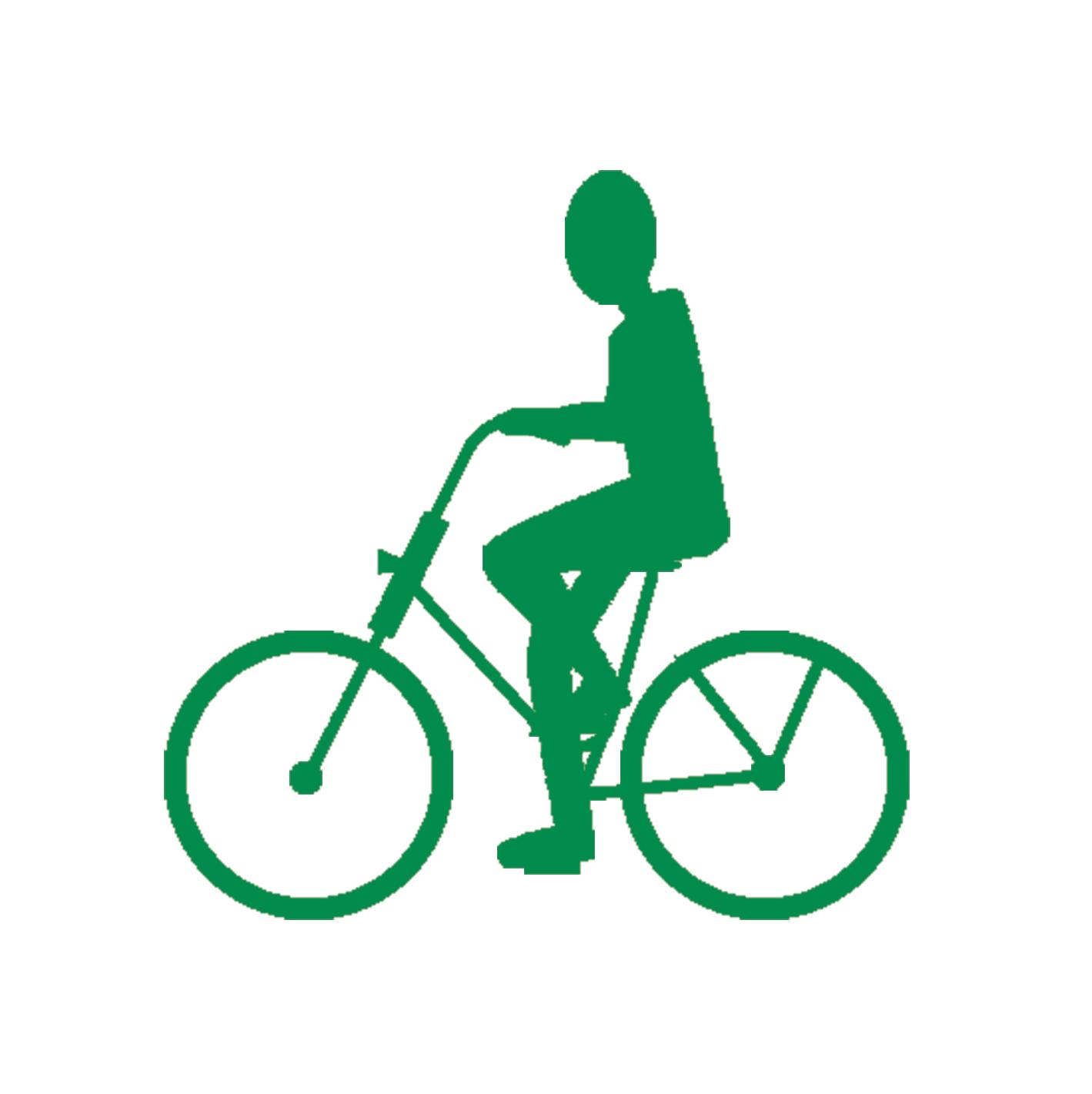 Icon Fahrrad. Grafik: Fabian Techel