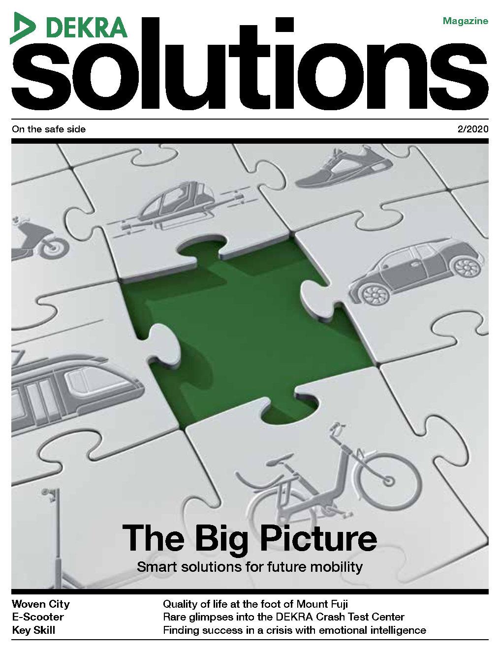 DEKRA solutions Magazine 2/2020