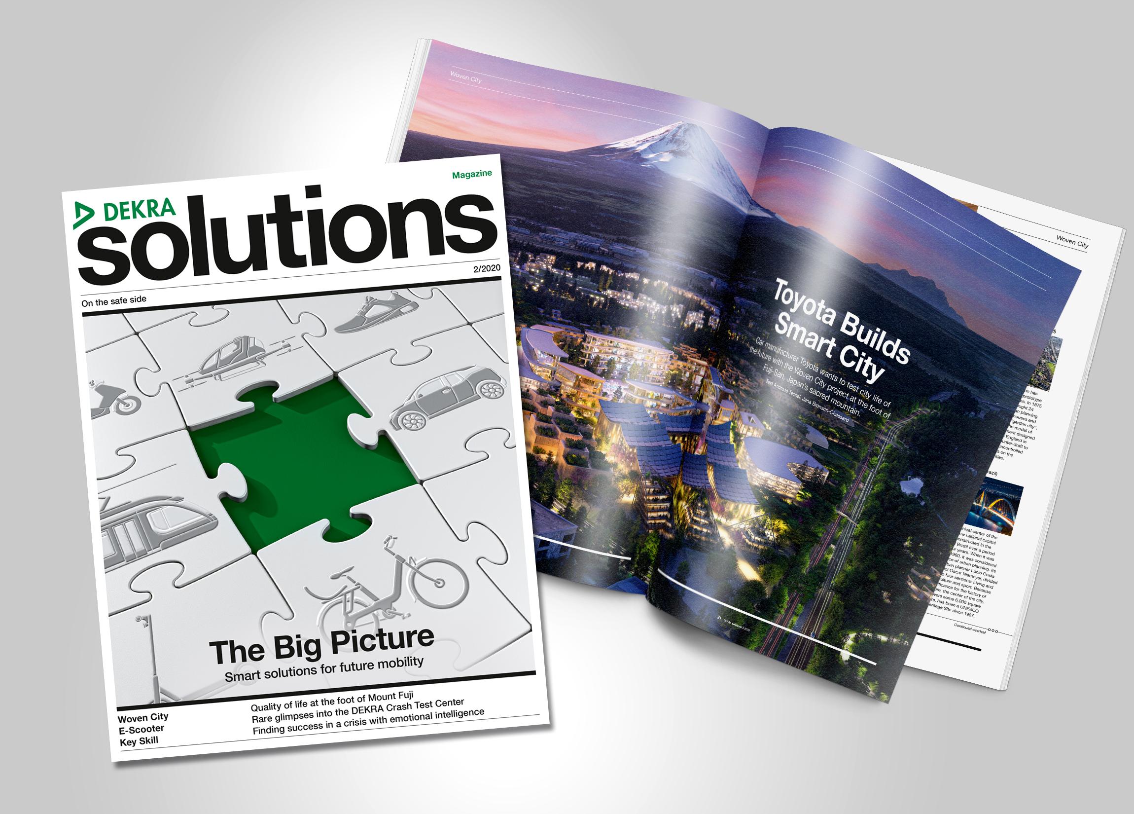 Titel DEKRA solutions 2/2020 Photo: DEKRA