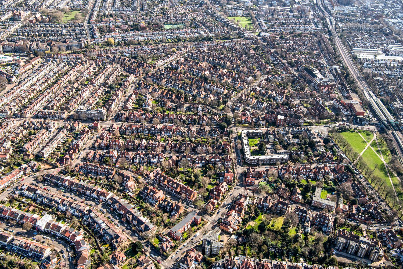 Der Bedford Park in London galt lange Zeit als Prototyp der Gartenstädte und Vororte. Foto: Hulton Archiv - Getty Images