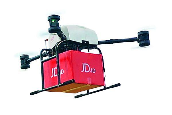 Paketdrohne: Der chinesische Onlinehändler JD.com setzt auf innovative Logistiklösungen. Foto: JD.com