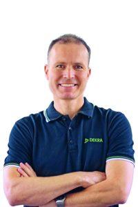 Markus Egelhaaf, DEKRA Accident Researcher. Photo: DEKRA