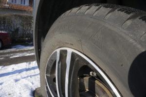 """Seit 2018 gelten neue Reifen nur noch als wintertauglich, wenn sie das Alpine-Symbol """"Berg mit Schneeflocke"""" tragen. Foto: ETM-Belluomo"""