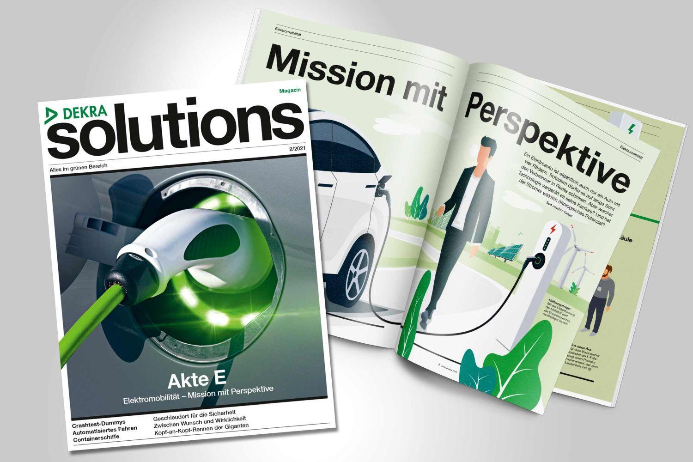Blättern Sie hier im aktuellen DEKRA solutions Magazin 2/2021
