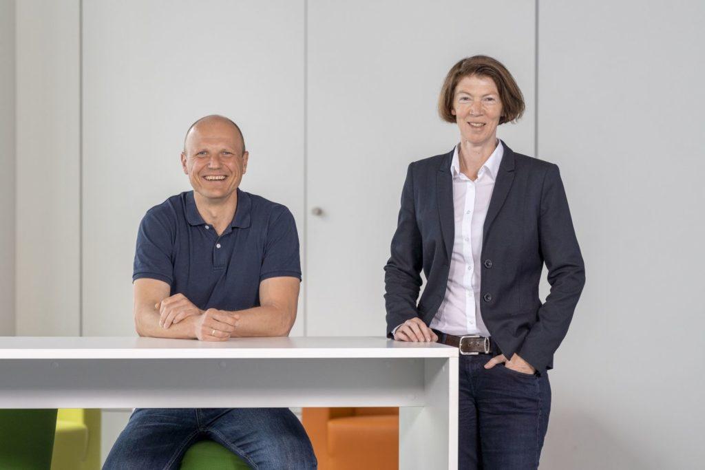 Interview Ulrike Hetzel und Stan Zurkiewicz. Foto: Thomas Küppers