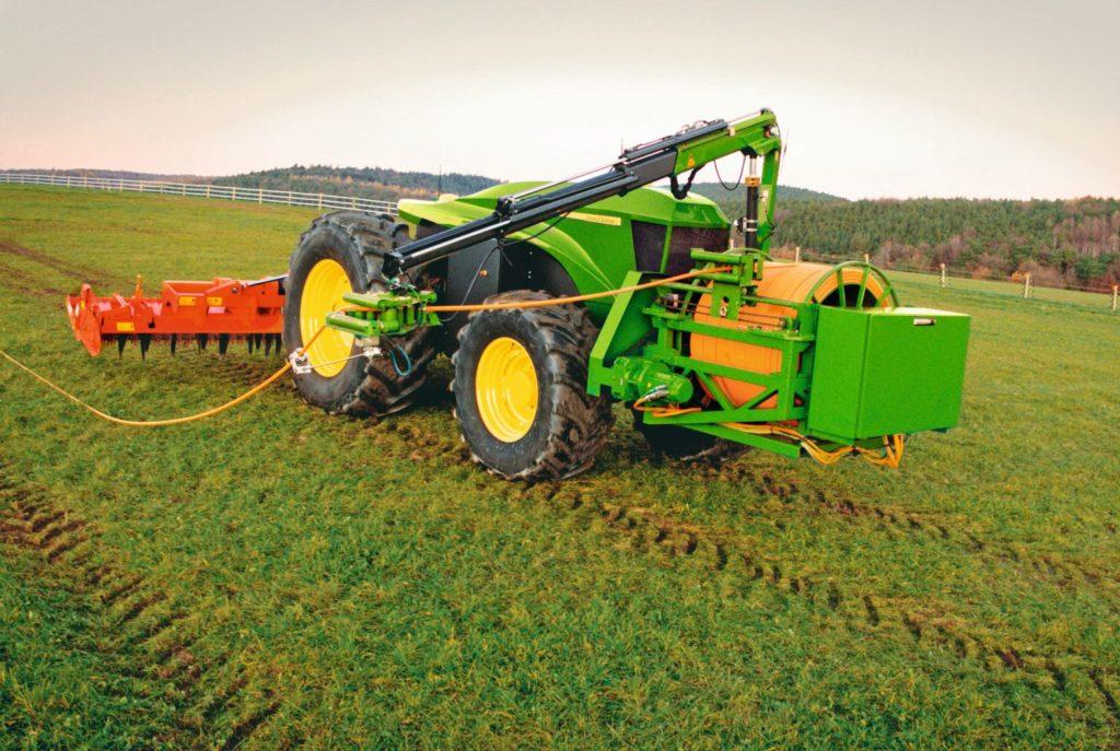 Fahrerlose Systeme sind keine Seltenheit in der Landwirtschaft. Foto: John Deere